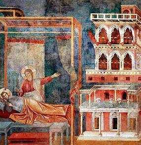 Fransiskus Bermimpi Tentang Istana