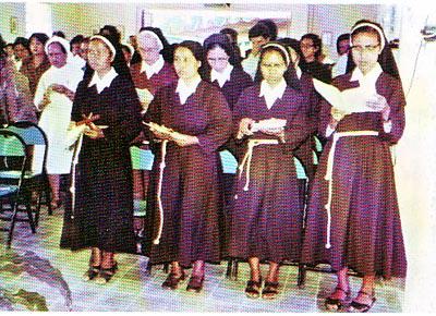 Pemberkataan biara OSC di Yogyakarta 1979