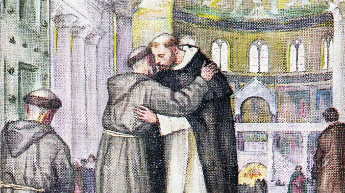 Bertemu Santo Dominikus