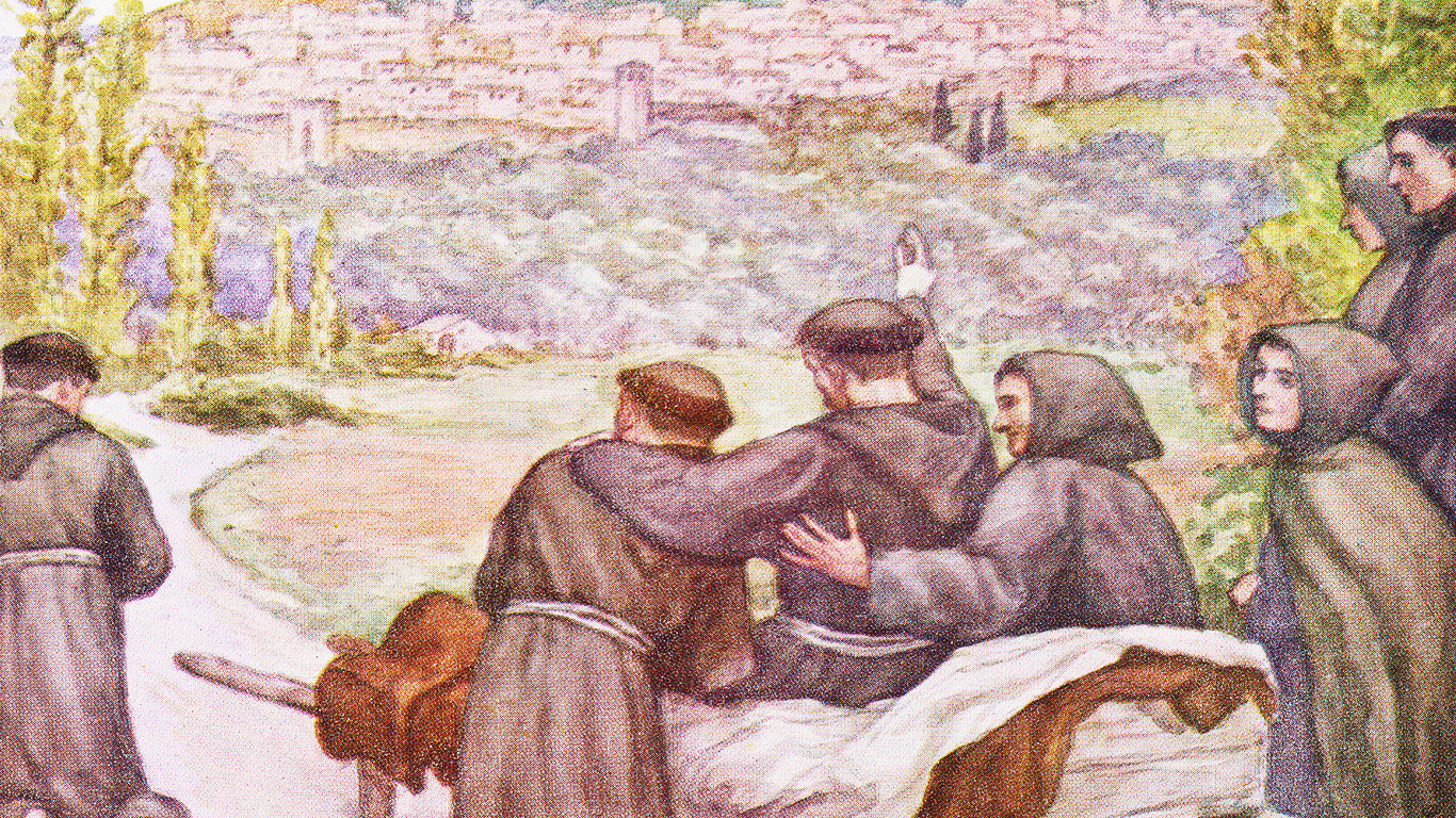 Berkat Terakhir dari Santo Fransiskus